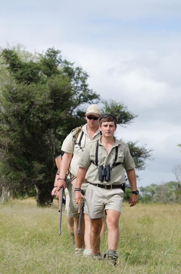 safari rangers at Sabi Sabi Private Game Reserve