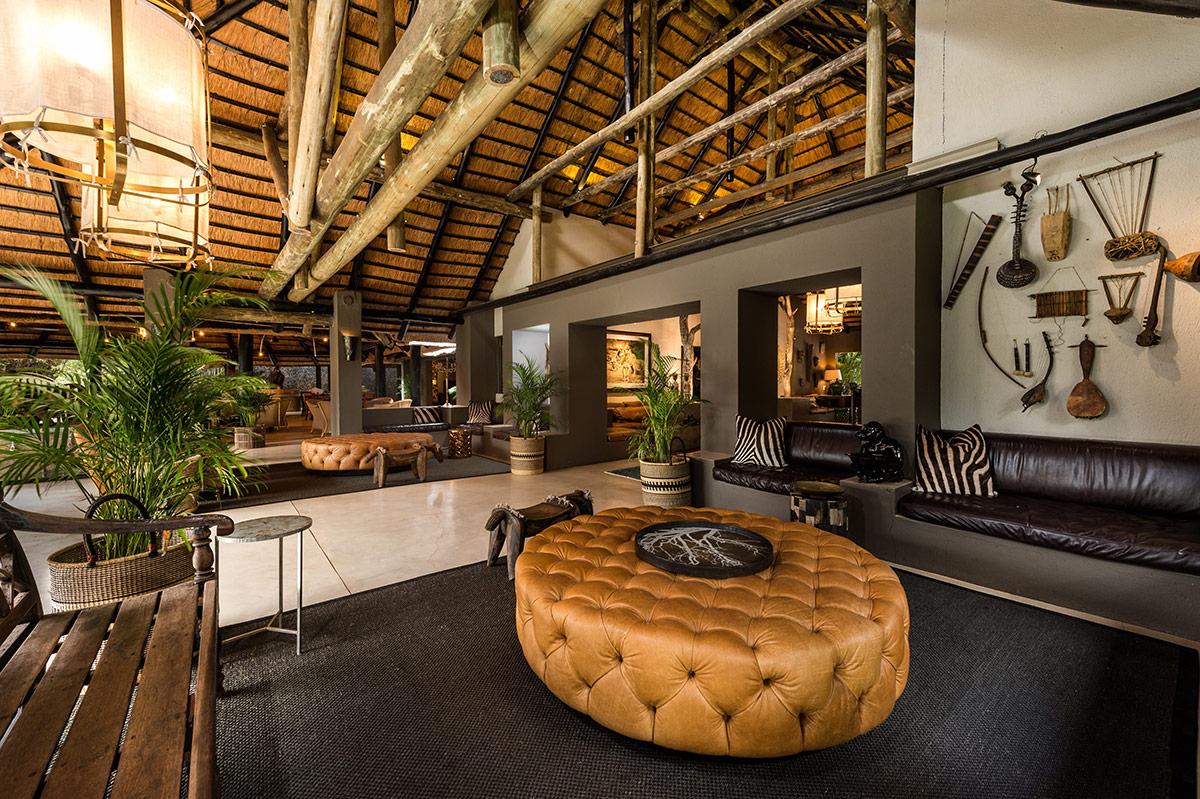 Bush lodge a decorative journey through africa sabi sabi luxury sabi sabi bush lodge safari lounge arubaitofo Image collections