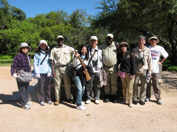 guests going on safari at Sabi Sabi