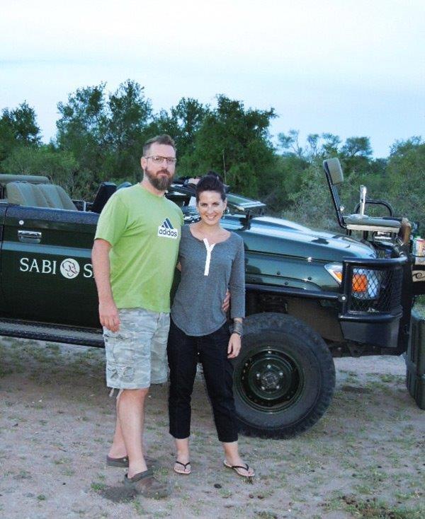On safari at sabi sabi private game reserve