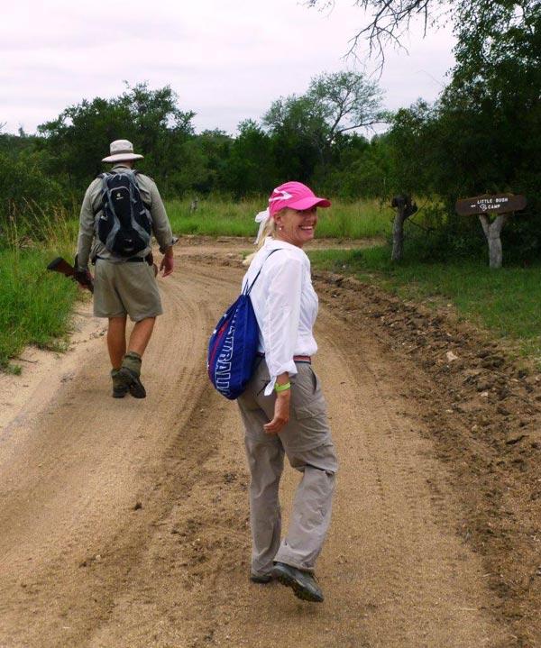 Guests on safari at Sabi Sabi Private Game Reserve