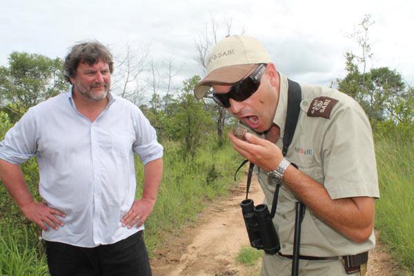 Sabi Sabi guests on safari