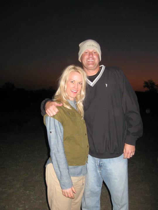 Jeff Lampkin family while on safari at Sabi Sabi