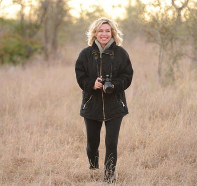 Ashley Hayden at Sabi Sabi