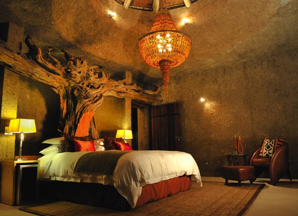 Sabi Sabi Earth Lodge Room