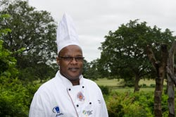 Wilfred Mtshali - Executive Chef Bush Lodge