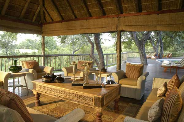 Sabi Sabi Bush Lodge deck