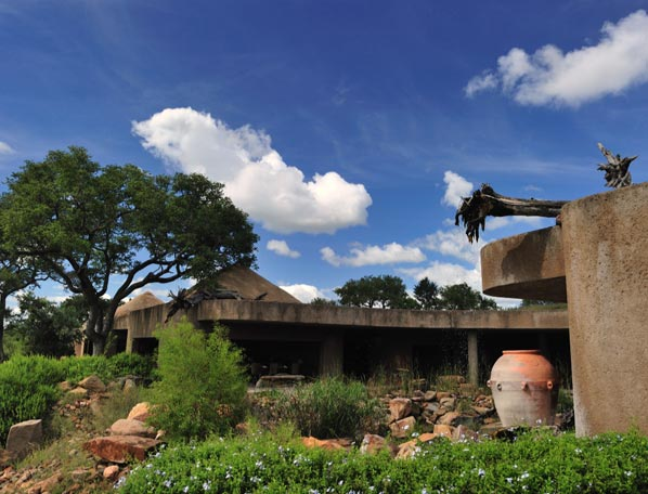 Earth Lodge Front view