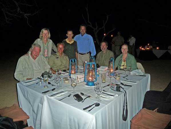 Boma Dinner at Sabi Sabi