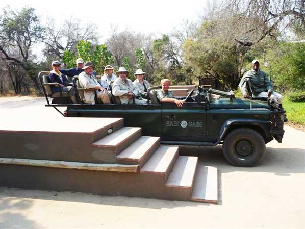 Steinberg safari game drive