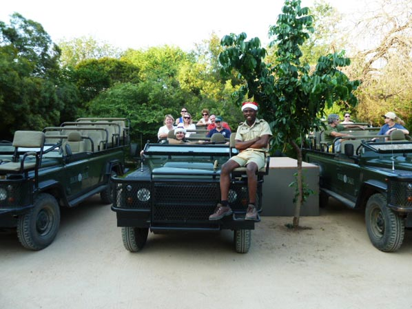 Sabi Sabi Guests on Safari Game Drive